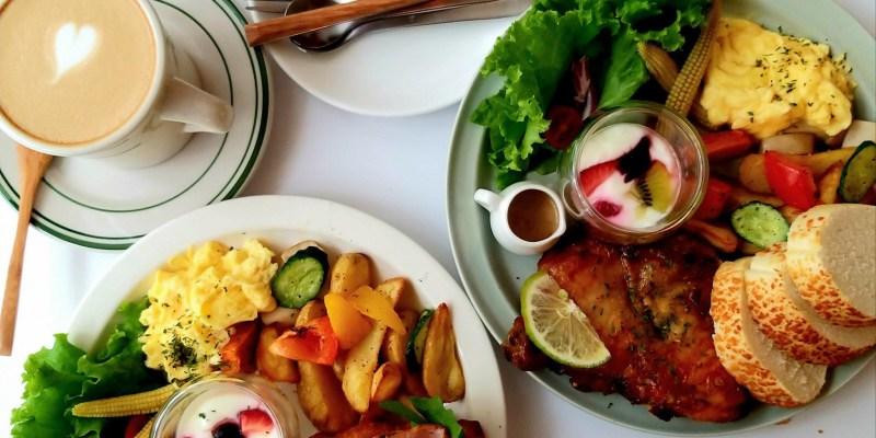 台南網美系早午餐推薦,在純白色的夢幻建築「有一隻羊」裏面享受咖啡、輕食、下午茶~