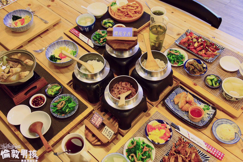 臺南民權路上的日式炊飯-「愛搭膳釜鍋米料理」把生米煮成熟 ...