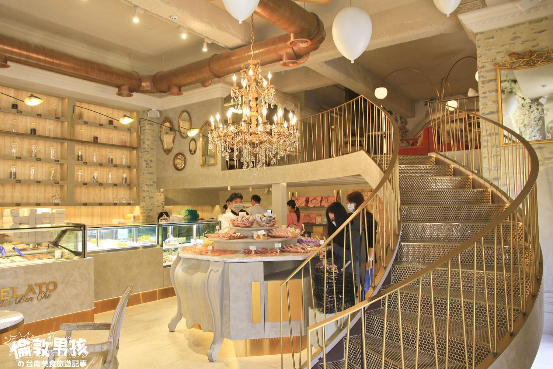 台南城堡甜點店-夢幻華麗的「名坂奇洋菓子」~網美系的奢華下午茶!