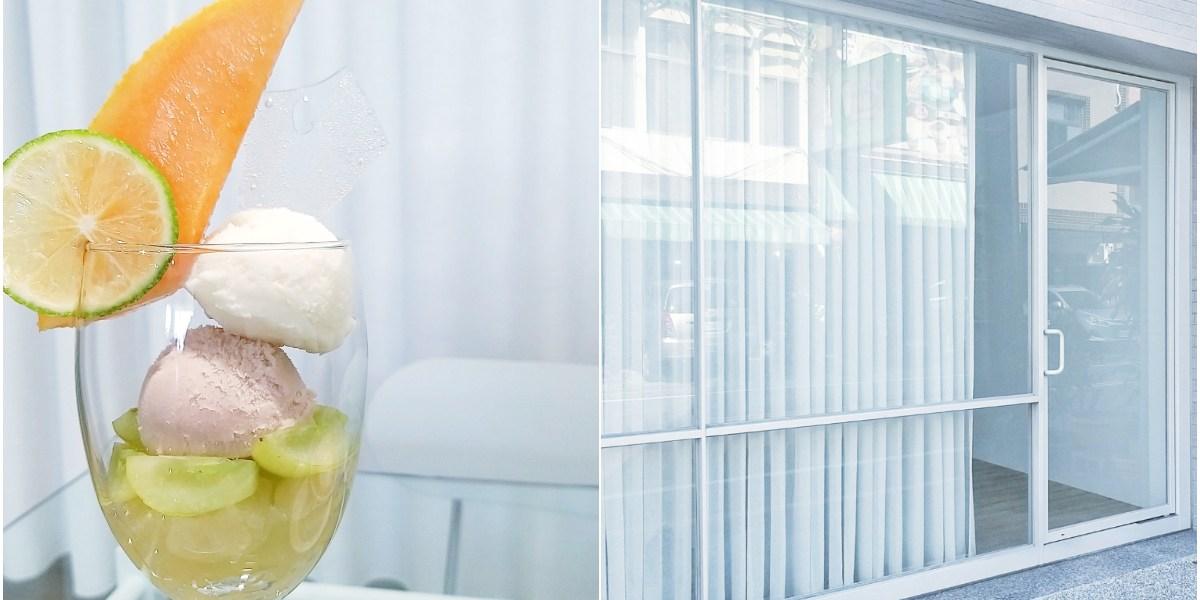 台南網美甜點店、下午茶,極簡風的「Detail Dessert」藏身住宅區!