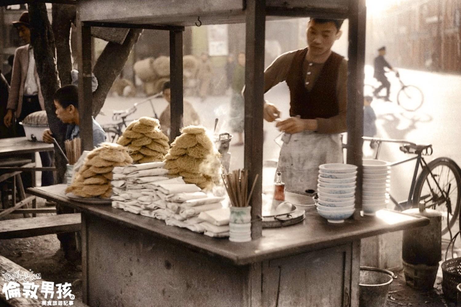 台南古早味美食,榮獲食品界米其林的「全福興製麵」鍋燒意麵、雞絲麵!