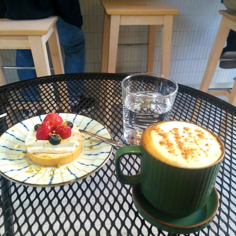 台南 Ark Coffee Shop|自家烘焙咖啡小店|布丁