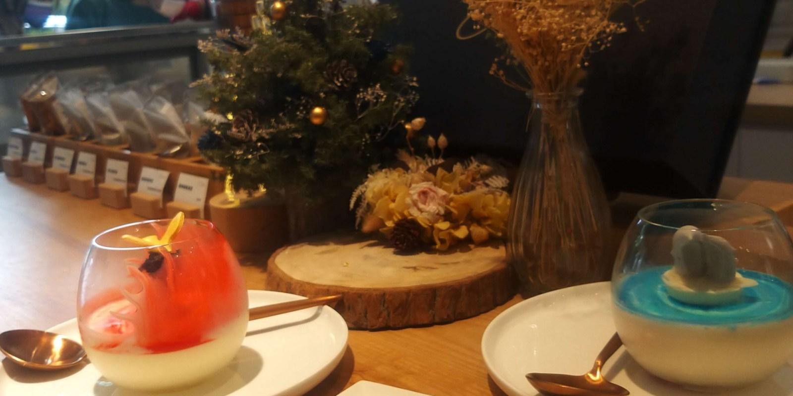 台南 漫步左岸法式甜點 吧台式座位 有故事的甜點