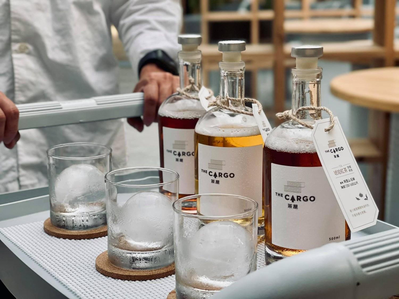 台南 中西區 正興街|The Cargo 茶屋|新潮現代空間|威士忌瓶裝高山茶|深夜喫茶店