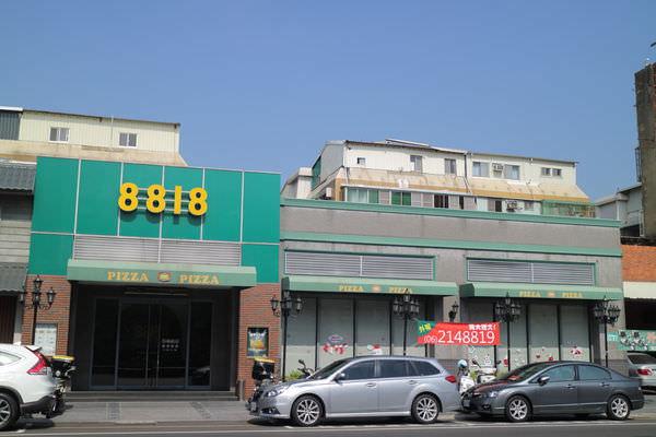 台南8818PizzaRestaurant比薩屋,買份披薩帶到球場裡吃才是王道!