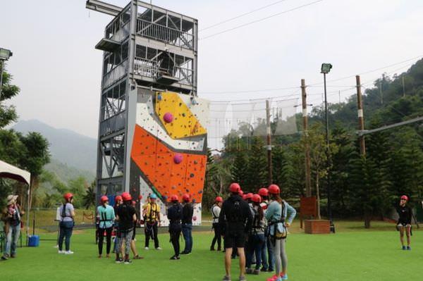 全台唯一冒險主題飯店『趣淘漫旅』自由落體、高空漫步、滑繩索、鐳射戰場、光束任務、攀岩~怎麼這麼好玩!