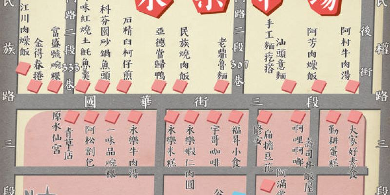 台南‧中西區 │ 傳統市場找美食-永樂市場吃什麼│國華街美食小吃大本營!觀光客在地人都推的隱藏小店全收藏!