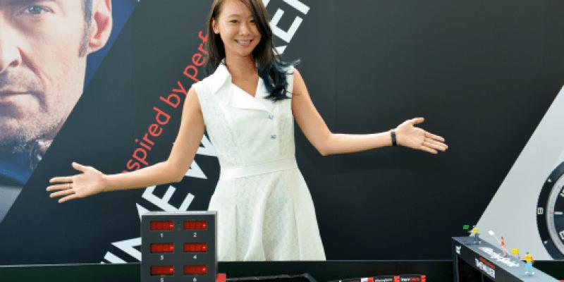 八年級生蘇怡潔接棒中國鐘錶
