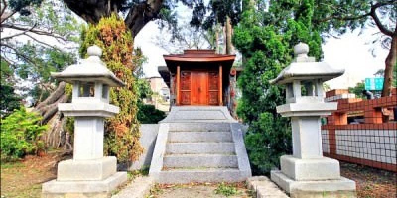 台南神社 研究調查 林百貨頂樓有座迷你神社…