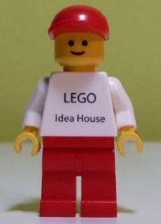 BrickLink Minifig Gen042 Lego LEGO Idea House Minifig Other