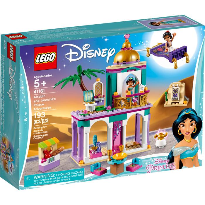 Lego Aladdin S And Jasmine S Palace Adventures Set 41161