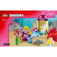 LEGO Ariel's Dolphin Carriage Set 10723 Instructions ...