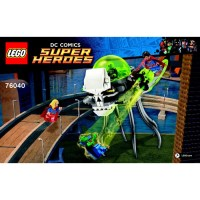 LEGO Brainiac Attack Set 76040 Instructions