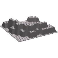 LEGO Dark Stone Gray Baseplate 32 x 32 Canyon Plate