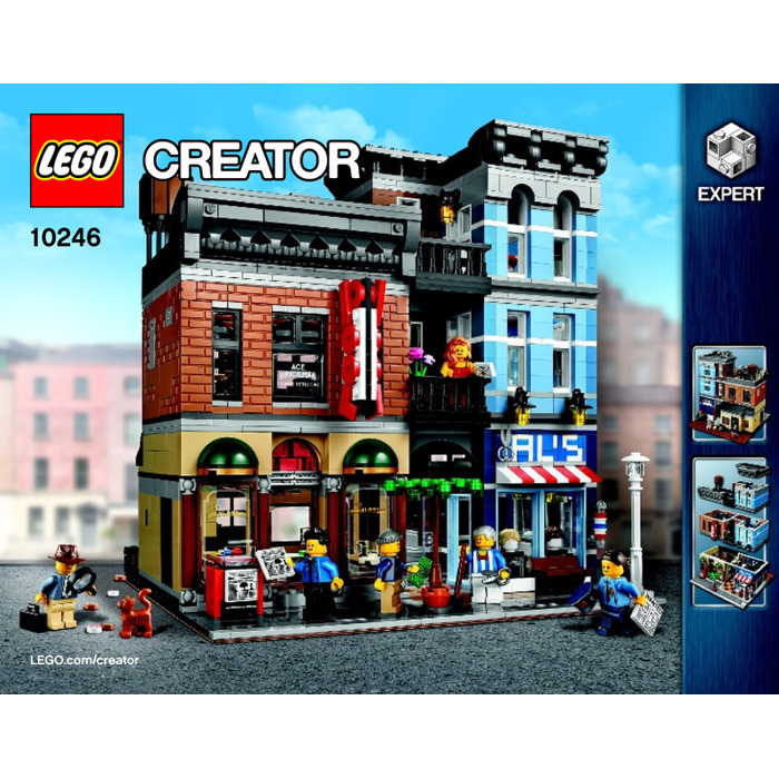 Lego Detective's Office Set 10246 Instructions  Brick Owl