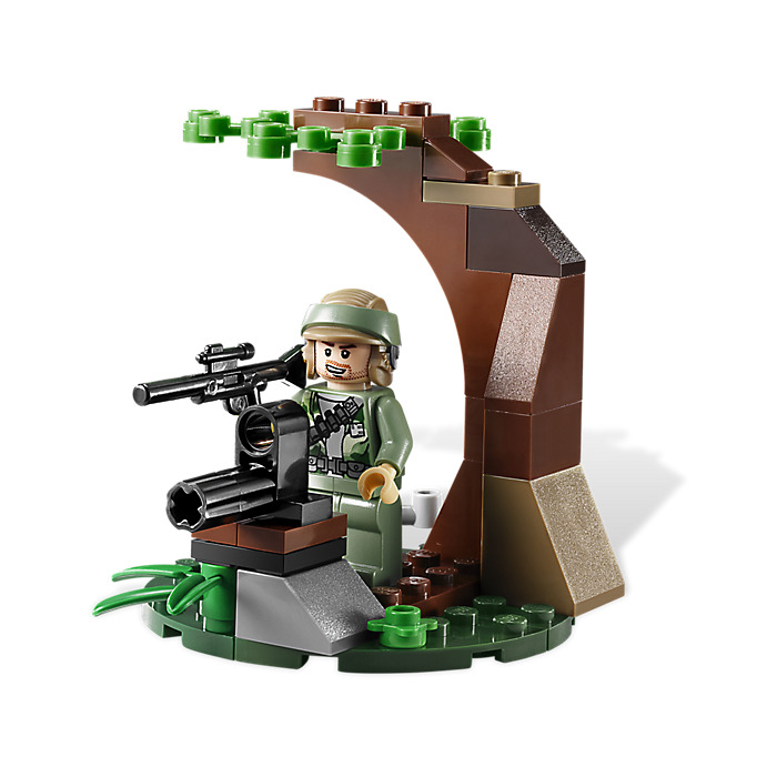 Lego Endor Rebel Trooper Imperial Trooper Battle Pack Set 9489
