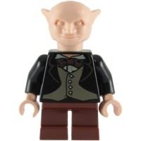 LEGO Black Jacket with tan vest and brown necktie (76382 ...