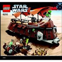 LEGO Jabba's Sail Barge Set 6210 Instructions | Brick Owl ...