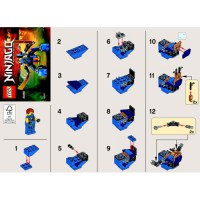 LEGO Jay's Nano Mech Set 30292 Instructions   Brick Owl ...