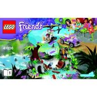 LEGO Jungle Bridge Rescue Set 41036 Instructions Comes In ...