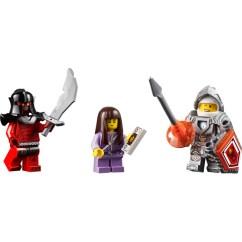3 Piece Kitchen Set Damascus Knife Lego Merlok's Library 2.0 70324 | Brick Owl - ...