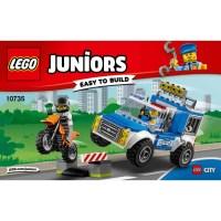 LEGO Police Truck Chase Set 10735 Instructions | Brick Owl ...