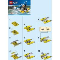 LEGO Police Water Plane Set 30359 Instructions | Brick Owl ...