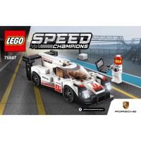 LEGO Porsche 919 Hybrid Set 75887 Instructions