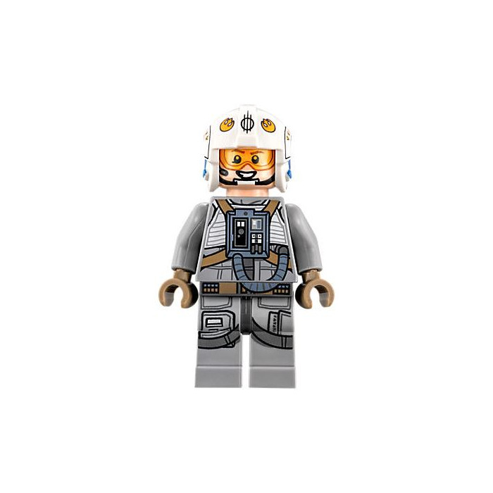 LEGO Dack Ralter Minifigure Head (Recessed Solid Stud