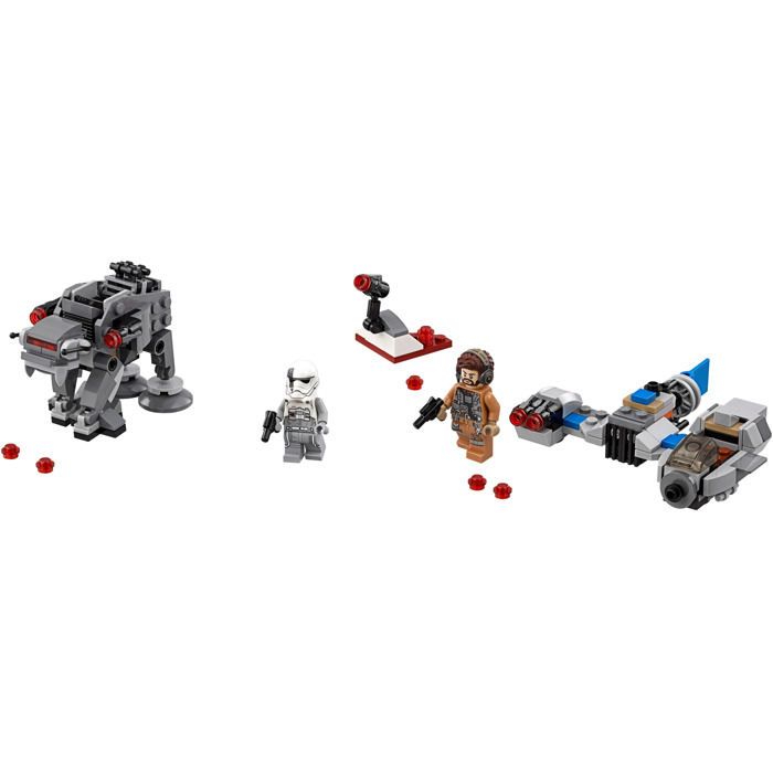 LEGO Ski Speeder vs. First Order Walker Microfighters Set