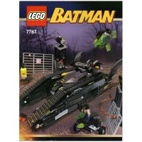 LEGO The Bat-Tank: The Riddler and Bane's Hideout Set 7787 ...