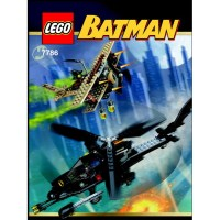 LEGO The Batcopter: The Chase for Scarecrow Set 7786 ...