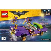 LEGO The Joker Notorious Lowrider Set 70906 Instructions ...