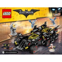 LEGO The Ultimate Batmobile Set 70917 Instructions | Brick ...