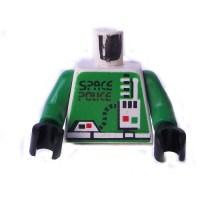 LEGO White Space Police 2 Torso Comes In   Brick Owl ...