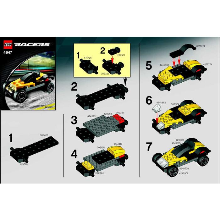 Car Instructions Lego Carsjp