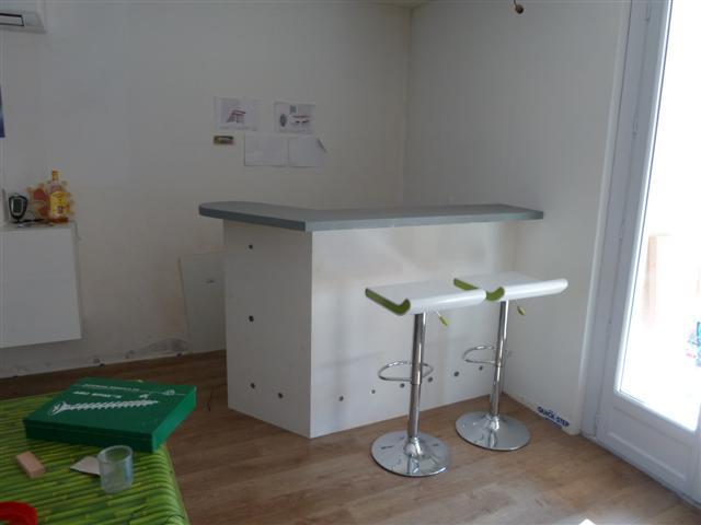 fabrication bar de salon