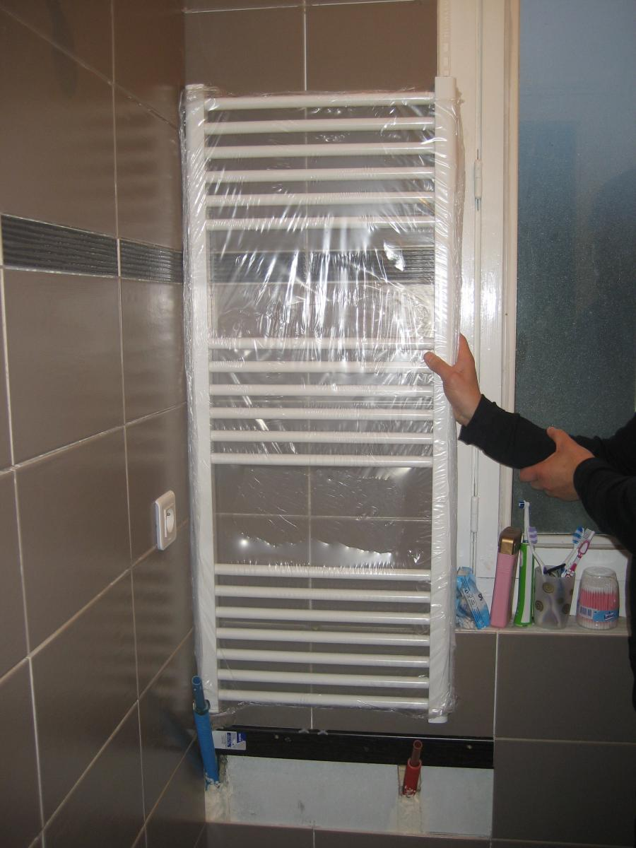 raccords PER pour seche serviette eau chaude
