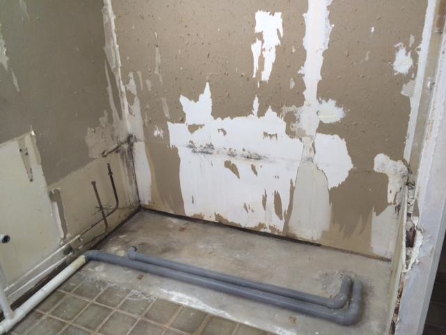 Rnovation salle deau  carton placo senlve