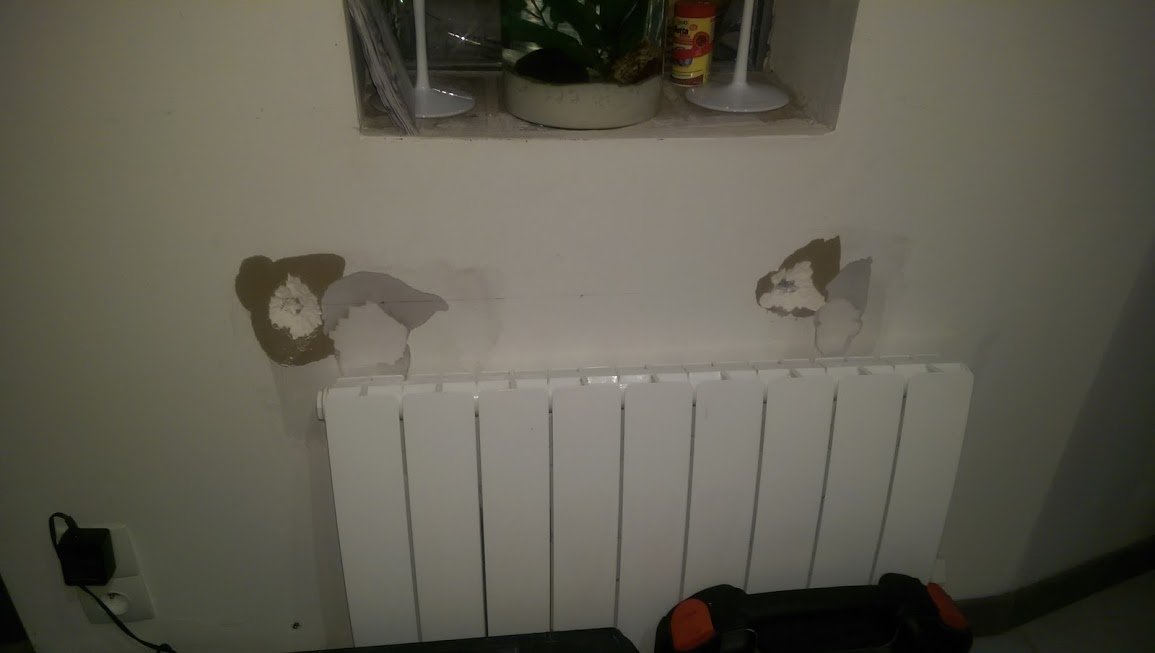 fixation meuble cuisine haut