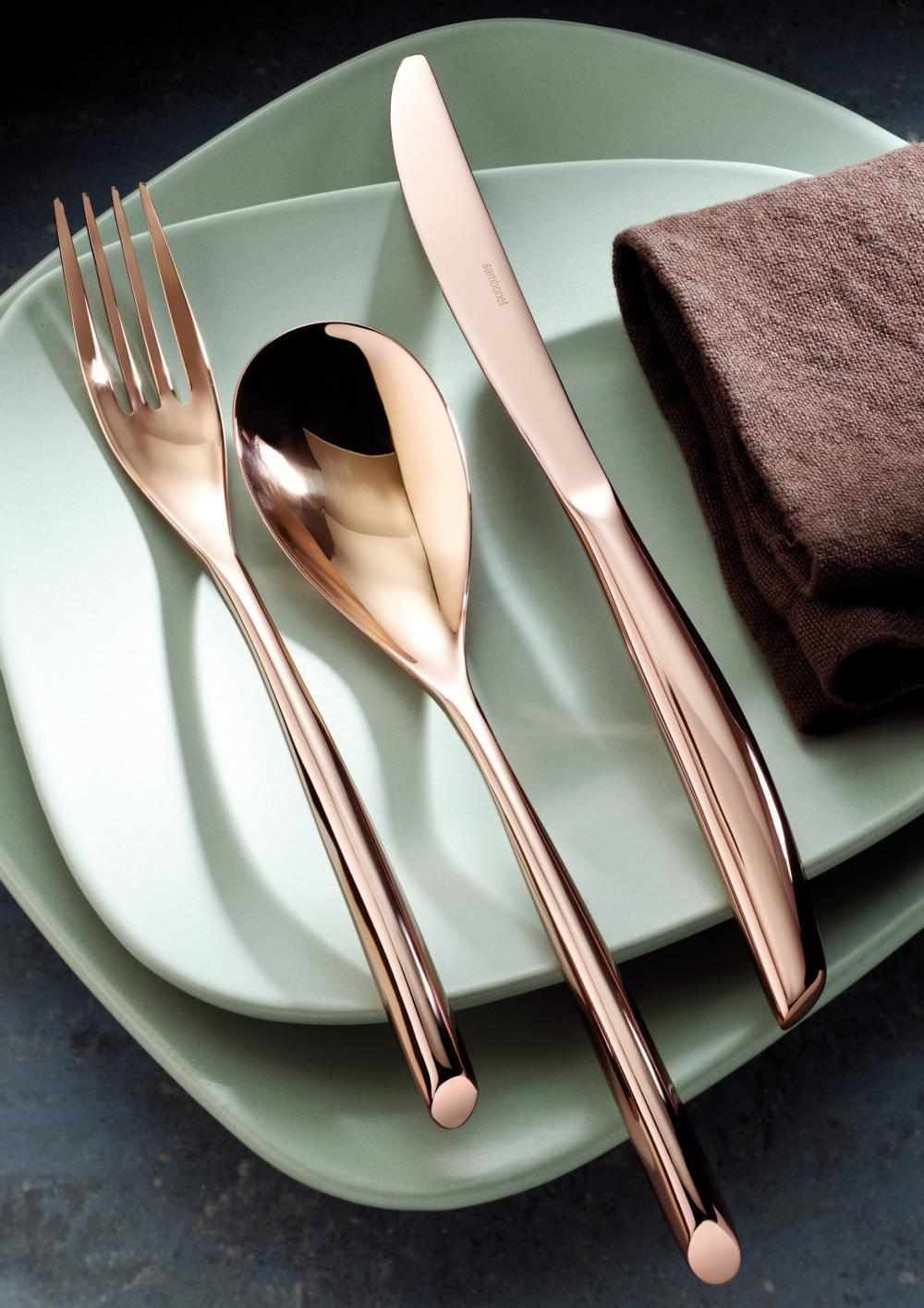Sambonet Bamboo Copper products