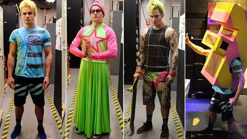 Wicked Broadway Outfits