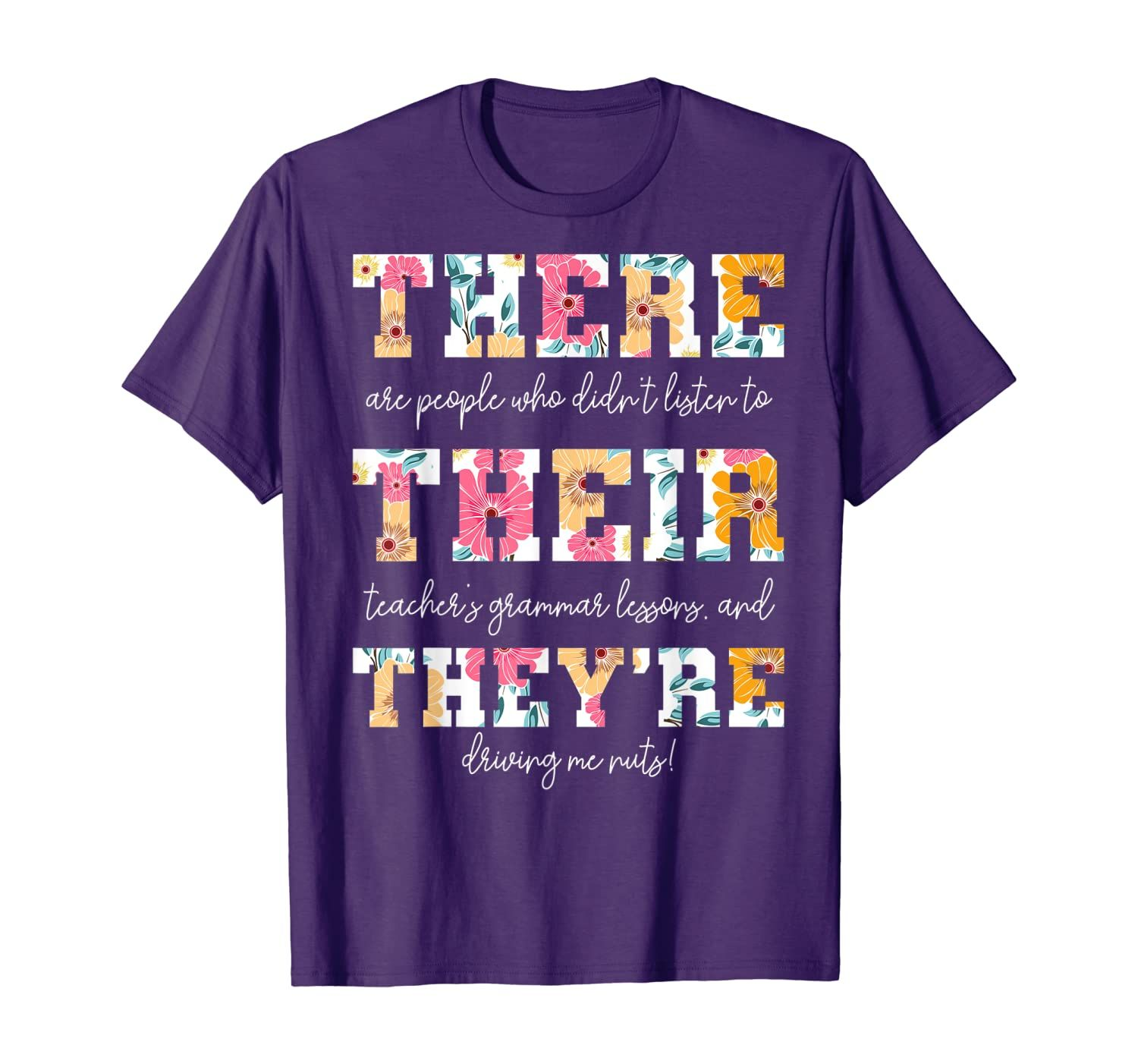 There Their They Re English Grammar Teacher Funny Quotes T