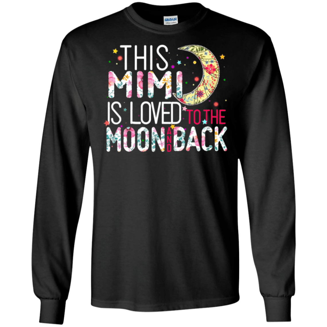 Download This Mimi Is Loved To The Moon And Back Svg - Grandma ...