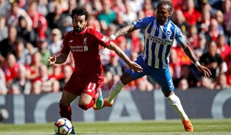 Date and channel carrier and comment Liverpool and Brighton in the English Premier League