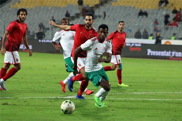 Al Ahly match in the African Champions League