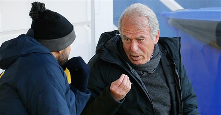 Trezeguet and Mustafa Denzeli