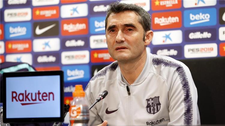 Valverde coach Barcelona
