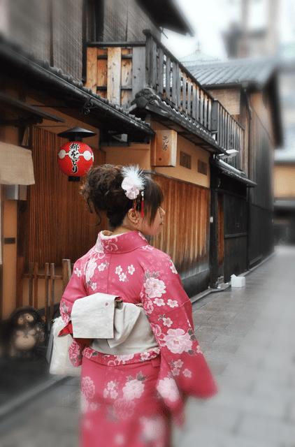 [旅遊] 在春天的京阪漫舞,岡本織物的和服體驗