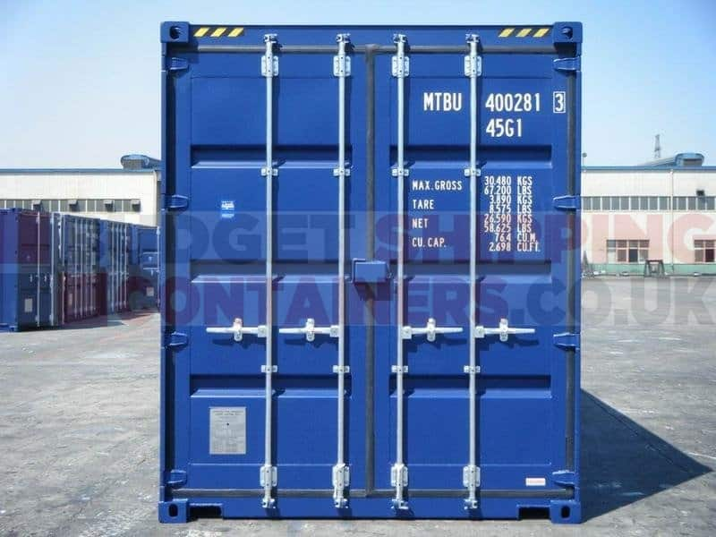 40ft High Cube Shipping Containers (New / One Trip)